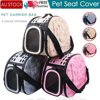 Foldable Pet Cat Dog Carrier Shoulder Bag Handbag for Kennel Puppy Small Animals