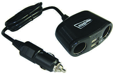 12v Twin Socket And Twin Usb Charger SWUSB4 Streetwize Genuine Quality Product