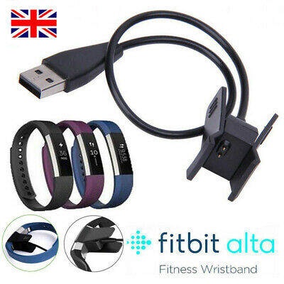 USB Charging Charger Cable Lead For Fitbit Alta Bracelet Wristband Charger Lead