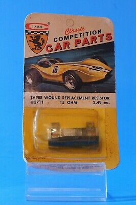 Vintage Classic Competition #3224-1 Slot Car Bevel Gear Kit 4:1 Ratio .078 ID