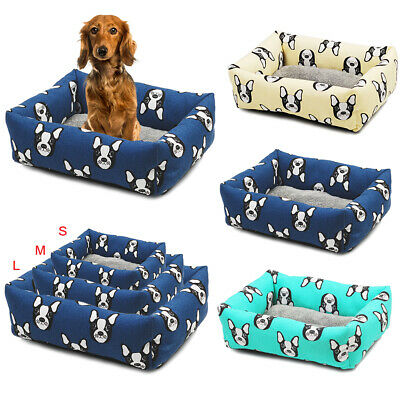 Heritage Deluxe Soft Washable Dog Pet Bed Warm Basket Cushion Warm Kennel Pads