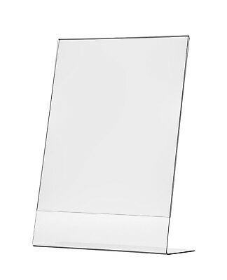 """11""""W x 17""""H Graphic Poster Frame Table Sign Holder Display Stand Slant Back"""