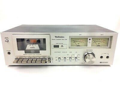 Technics Rs-616 Vintage Kassetten Deck Retro Tapedeck - 1977 - Top-Zustand