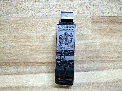 Allen Bradley 595-AB Contact 595AB Size 0-5