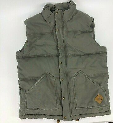 The North Face Green Puffer Winter Vest Mens Size Medium