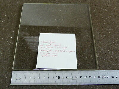 Big ZEISS Optical Comparator Calibration GRID Reticle Right Angle Cross  Glass
