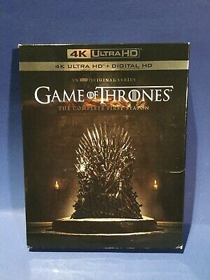 Game of Thrones: The Complete First Season Box (ultra HD 4K Blu-ray) with code