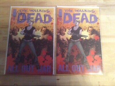The Walking Dead Comic Issue #116 Four Issues Two Signed. Bagged & Boarded,
