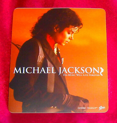 Michael Jackson His Music Will Live Forever STICKER JAPAN ONLY RARE