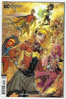 Young Justice # 8 Variant Cover NM DC Pre Sale Ships Sept 4th