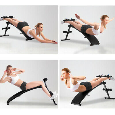 OTF Foldable sit up Bench Abdominal Crunch Home Gym Exerciser Training Machine