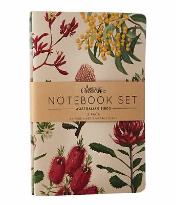 Notebook set Australian Botanicals souvenir