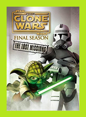 New & Sealed STAR WARS THE CLONE WARS: THE LOST MISSIONS (DVD SET)