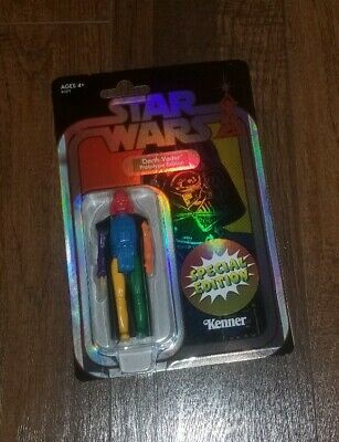 STAR WARS Darth Vader Retro Prototype Target 2019 SDCC EXCLUSIVE Multicolor Toy