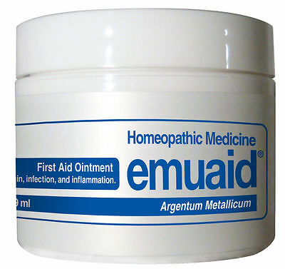 Emuaid Homeopathic Ointment Natural Remedy for Over 120 Skin Disorders 2oz. NIB