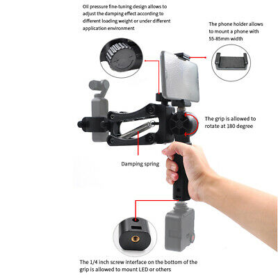 Professional 4th Axis Mobile Gimbal Stabilizer Holder For DJI OSMO POCKET Camera