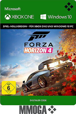 Forza Horizon 4 Key - Xbox One & Windows 10 PC Spiel - Download Code [EU/DE]