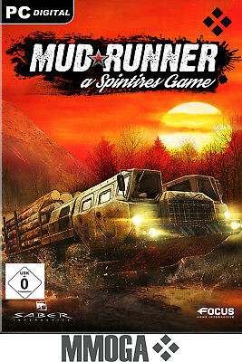 Spintires: MudRunner Key - Steam Version Spiel - PC Download Code NEU [DE/EU]