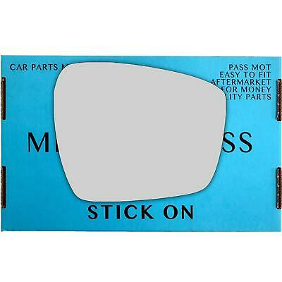 Right Driver  side wing mirror glass for Ford GALAXY 2006-2015