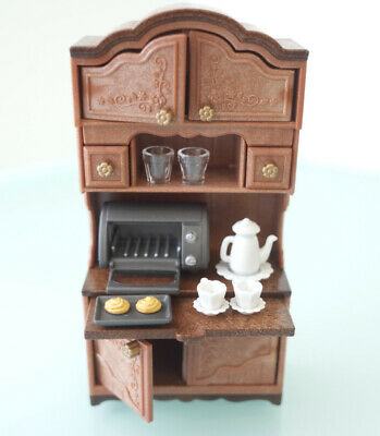 Sylvanian Families CLASSIC BROWN CUPBOARD SET Calico Critters EPOCH