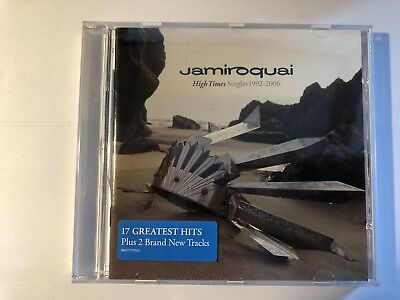 High Times, Jamiroquai Singles 1992-2006 CD excellent condition