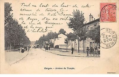 93.n°59542.gargan.avenue du temple