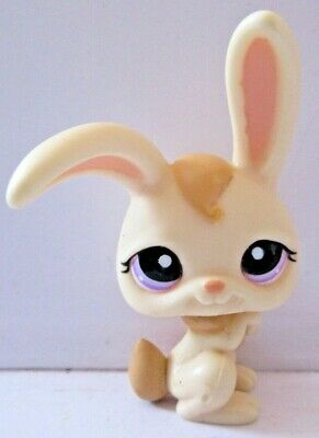 Figurine De Collection Petshop Pet Shop Lps # 1107 Lapin De Garenne