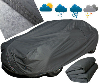 HEAVY DUTY XL 5.2KG 2 Layer Full Car Cover Outdoor Waterproof For Tesla Model S