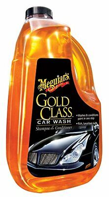 Meguiars Gold Class Shampoo Conditioner Car Washing Cleaning PH Neutral Gloss