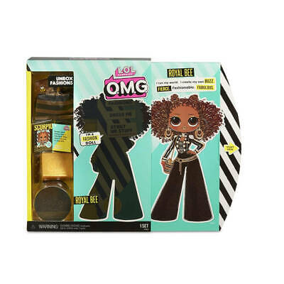 L.O.L. Surprise! - LOL Surprise OMG Doll: Royal Bee - Brand New