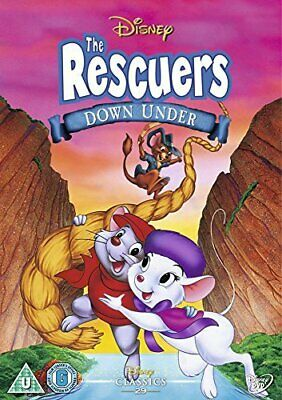 The Rescuers Down Under Dvd - New / Sealed - Uk Stock