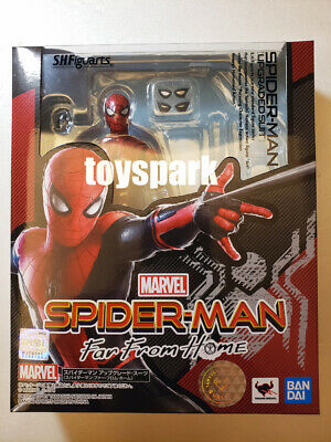 BANDAI S.H.Figuarts Spider-Man Far From Home SPIDERMAN UPGRADED SUIT figure
