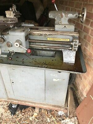 "Harrison 9"" Lathe and tools. Used condition"