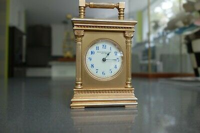 Antique Swiss Minute Repeating Miniature Carriage Clock
