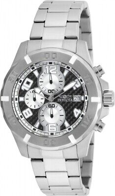 Invicta 17716 Specialty Men's Chronograph 45mm Stainless Steel Black Dial Watch
