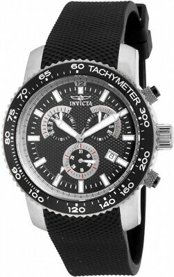 Invicta 17773 Specialty Men's Chronograph 45mm Stainless Steel Black Dial Watch