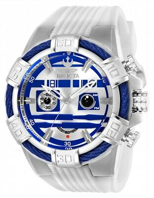 Invicta 26269 Star Wars Men's 52mm Chronograph Stainless Steel Silver Dial Watch
