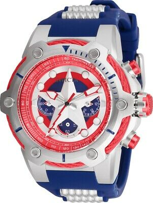 Invicta 26894 Marvel Captain America Men's 51mm Chronograph Stainless Steel