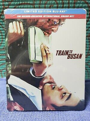 Train To Busan Limited Edition Steelbook Blu-Ray Brand New Sealed Free Shipping