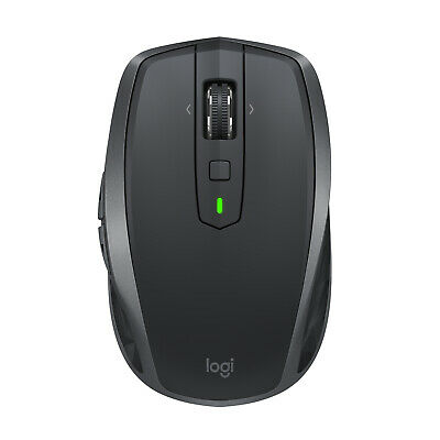 Logitech MX Anywhere 2S Wireless Bluetooth Mouse - Black