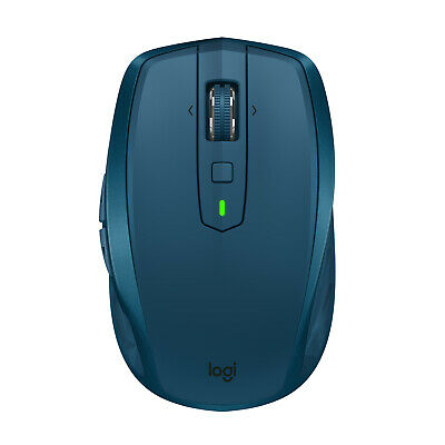 Logitech MX Anywhere 2S Wireless Bluetooth Mouse - Blue