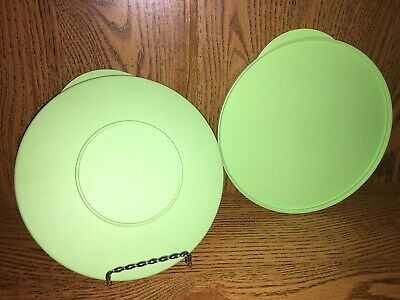 "Tupperware 3096 Light Green Replacement Impressions Seal 7"" Round (2)"