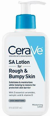 CeraVe SA Lotion For Rough & Bumpy Skin | 8 Ounce | Vitamin D, Hyaluronic Acid