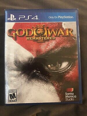 God of War III: Remastered (Sony PlayStation 4, 2015) PS4 Brand New Sealed