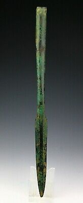 *SC* A LARGE WESTERN ASIAN SOCKETED BRONZE SPEAR POINT, 2nd mill BC!