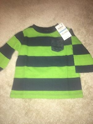 NWT First Impressions  Long Sleeve Tee 3-6 Month