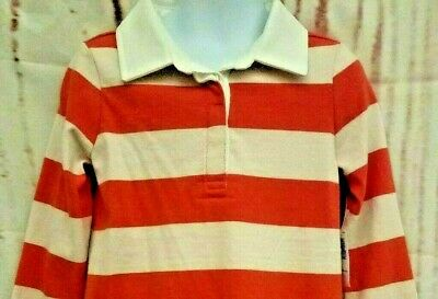 Old Navy Boys Rugby Polo Striped Shirt Top Size 4T