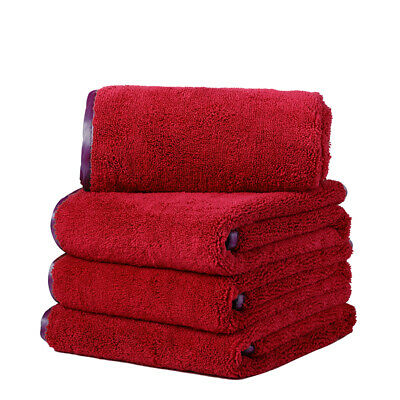 """4X Large Microfiber Towel Elite Deluxe Soft Car Wash Drying Cleaning Cloth16x24"""""""