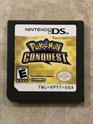 Pokemon Conquest ( Nintendo DS ) , Cartridge Only