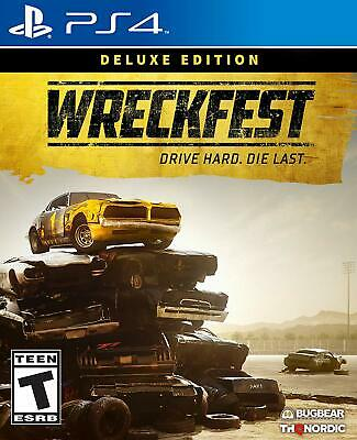 WRECKFEST Deluxe Edition includes Season Pass (PlayStation 4) BRAND NEW!!!!! ps4